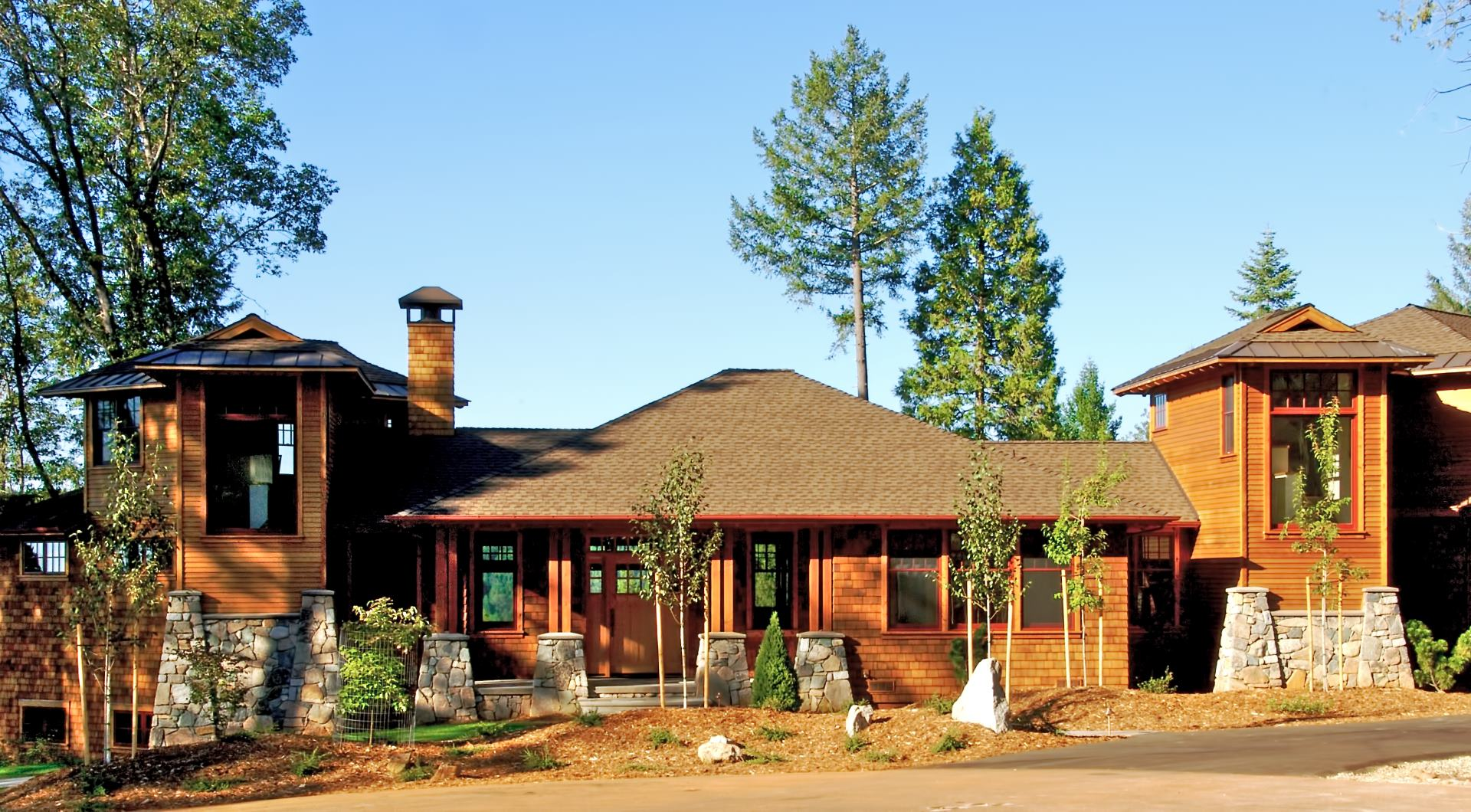 Sierra Pines custom home exterior