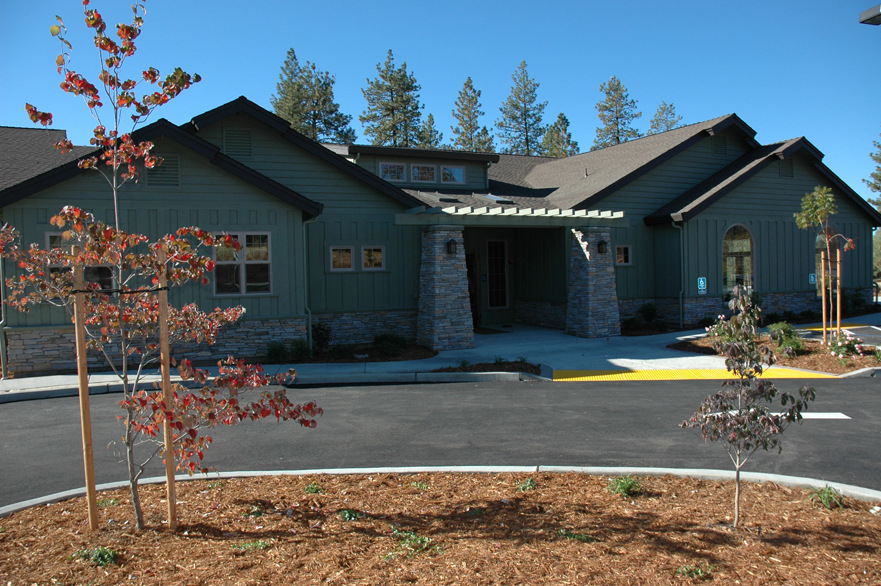 hospice foothills exterior