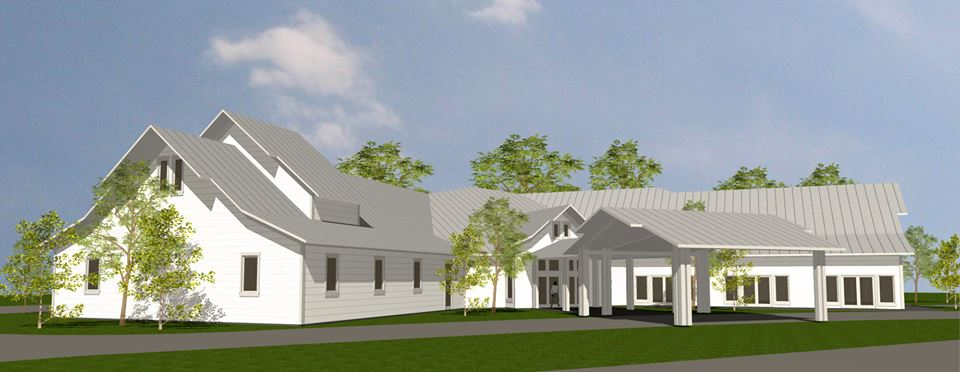 Rendering for the new Penn Valley Community Church