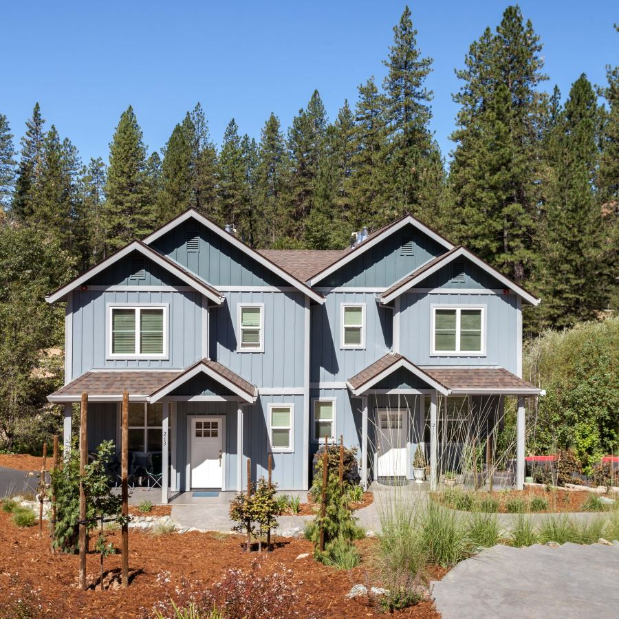 Chief Kelly Duplex Apartments project in Nevada City