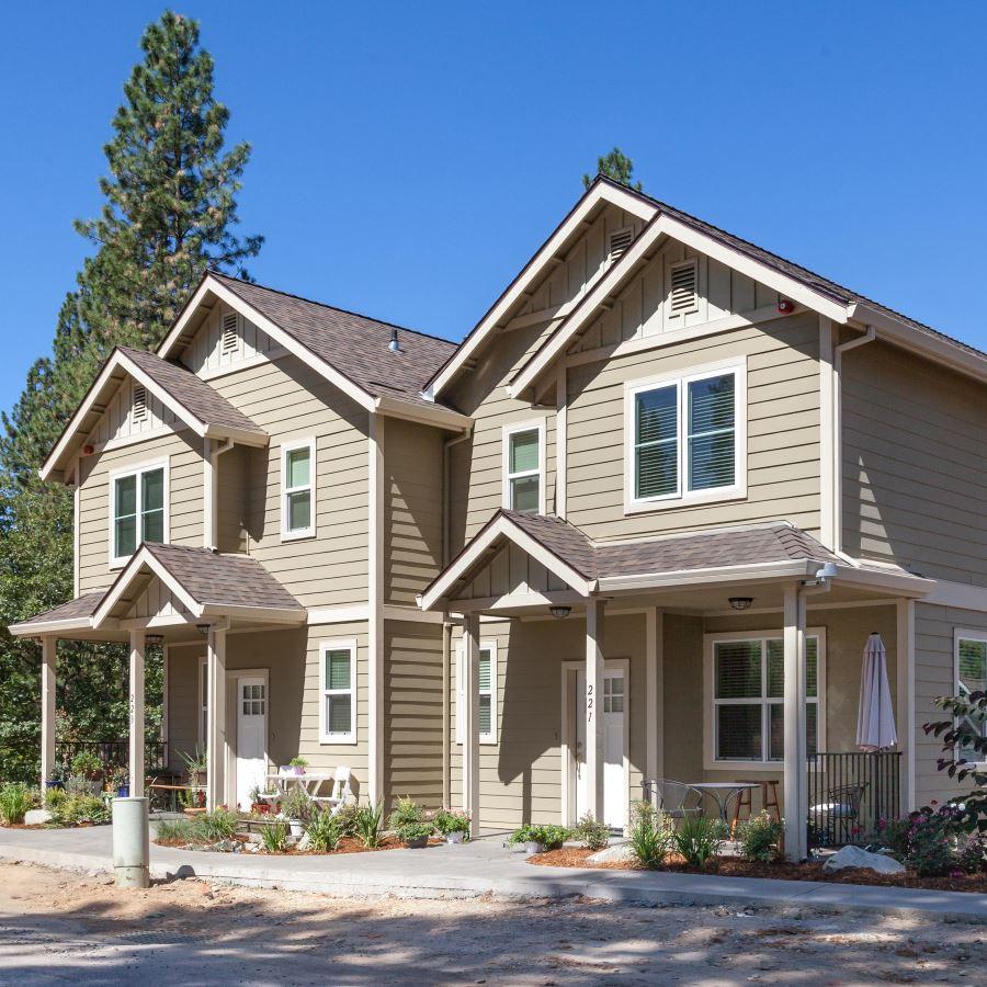 Commercial residential duplex design